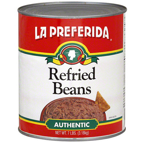 La Preferida Authentic Refried Beans, 7 lb (Pack of 6)