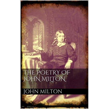 The poetry of John Milton - eBook