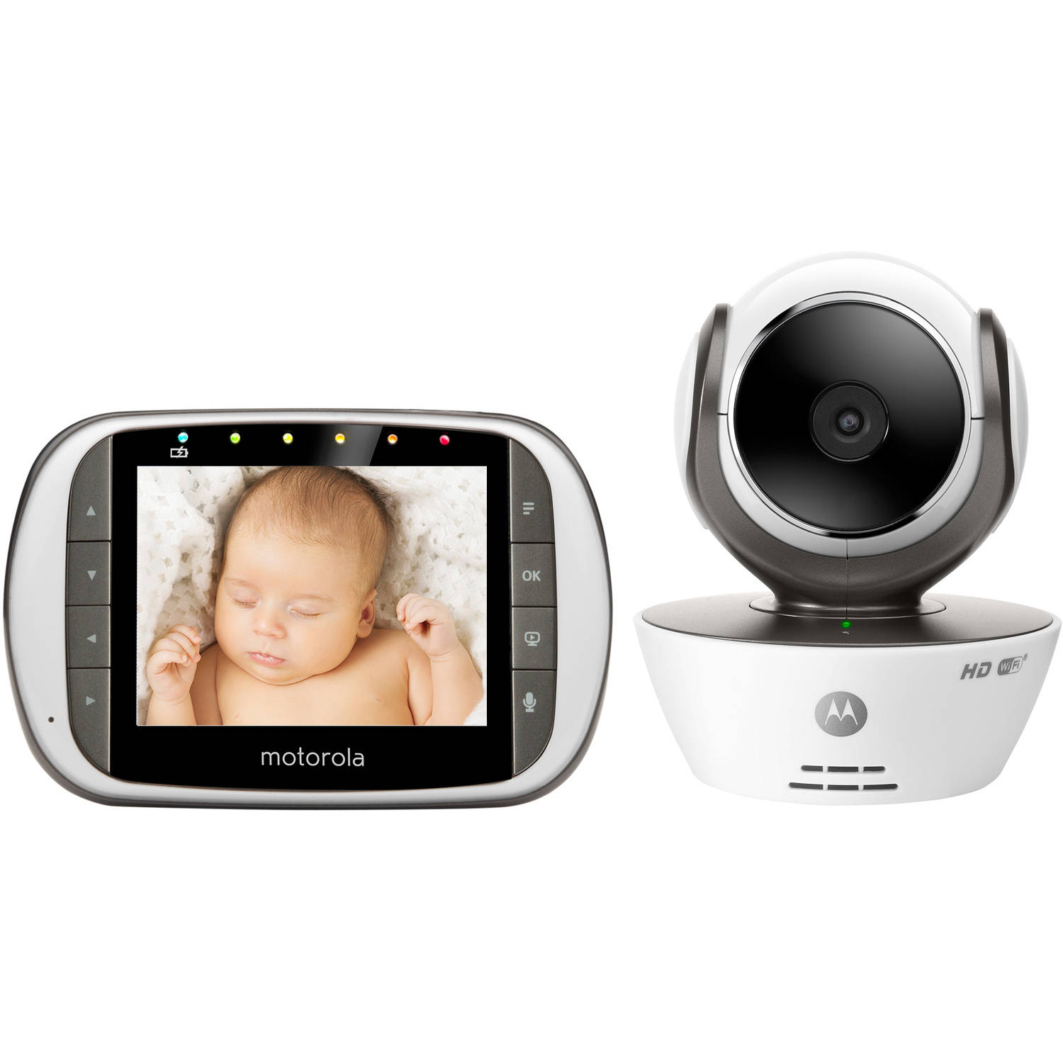 Motorola MBP853CONNECT Digital Video Baby Monitor with Wi-Fi Internet Viewing