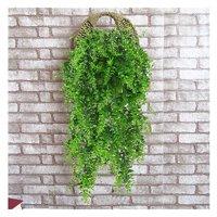 Artificial Plants Greenery Boston Fern Rattan Fake Hanging Plant Ivy Vine Outdoor Plastic Plants Vines for Safari Jungle Party Decorations Supplies