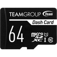 Deals on Team 64GB Dash Card microSDXC Memory Card w/Adapter