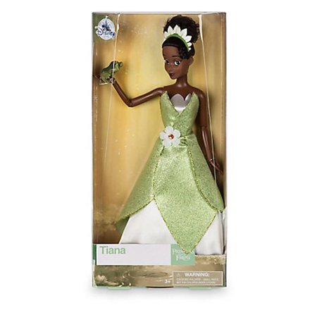 Disney Store Princess Tiana with the Frog Classic Doll New with Box - Tiana Disney Princess