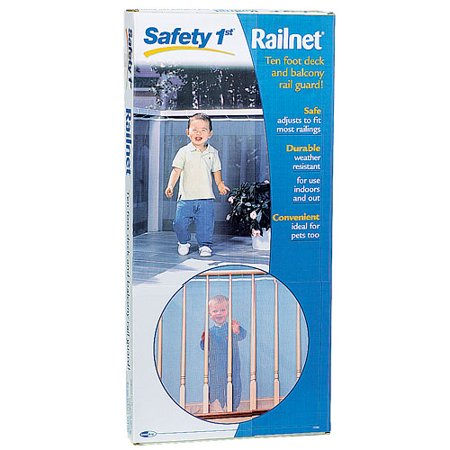 balcony railing guard Safety 1st Railnet