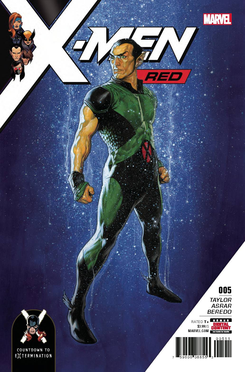 Marvel X-Men Red #5 by