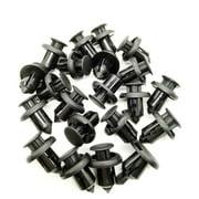 10mm Automobile Plastic Fastener Clip for Honda Civic Accord CRV Car Bumper Fender Fixed Clips