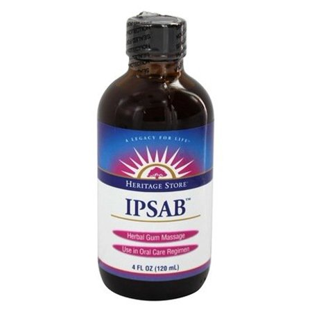 IPSAB Herbal Gum Treatment - 4 fl. oz. by Heritage (pack of 1)