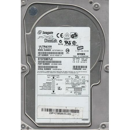 ST373307LC, 3HZ, AMKSPR, PN 9V3006-002, FW 0006, Seagate 73.4GB SCSI 3.5 Hard Drive 80pin Scsi Internal Hard Drive