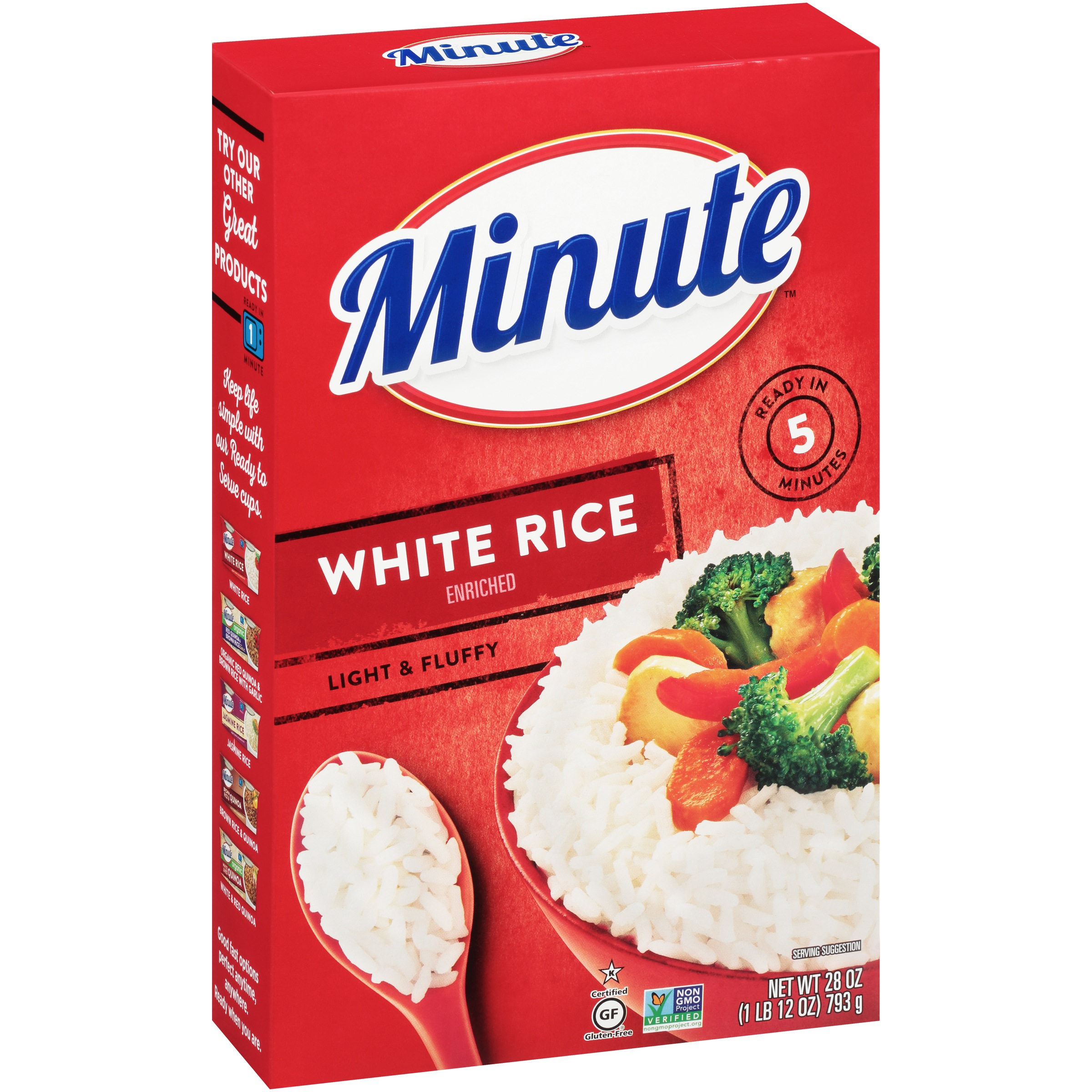 Minute® White Rice 28 oz. Box