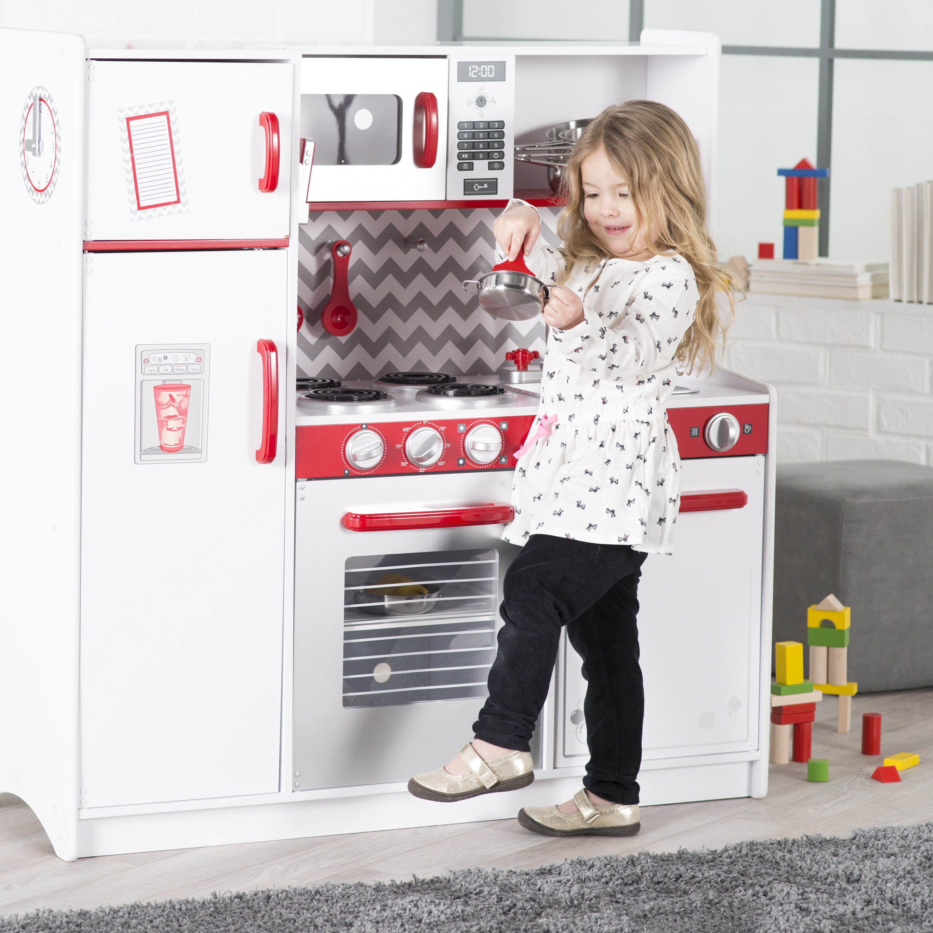 KidKraft Busy Bakin' Play Kitchen - 53342 - Walmart.com