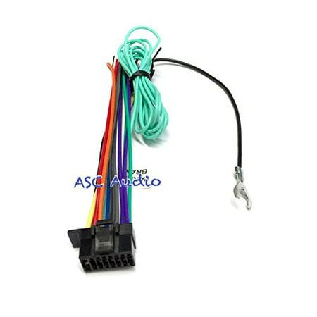 asc audio sony radio wire harness wx-gt80ui cdx-gt575up mex-bt4100p cdx