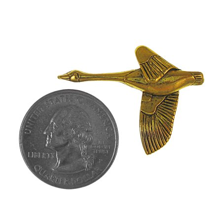 Best Canada Goose Gold Lapel Pin - 1 Count deal