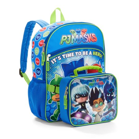 PJ Mask Hero Time Backpack with Lunch