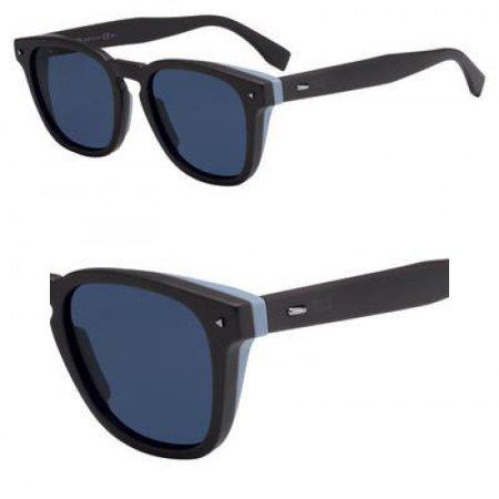 Sunglasses Fendi Men Ff M 18 /S 009Q Brown/KU blue avio lens