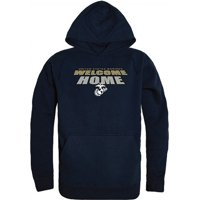 RapDom USMC Welcome Home Graphic Mens Pullover Hoodie [Heather Charcoal Grey - S]