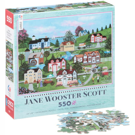 Ceaco® Jane Wooster Scott Spring Has Sprung Puzzle 550 pc - Jane Wooster Scott Halloween Puzzle