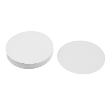 """100 Pcs 0.15% Ash Rate 11cm 4"""" Diameter Slow Flow Qualitative Filter Paper - image 1 of 1"""
