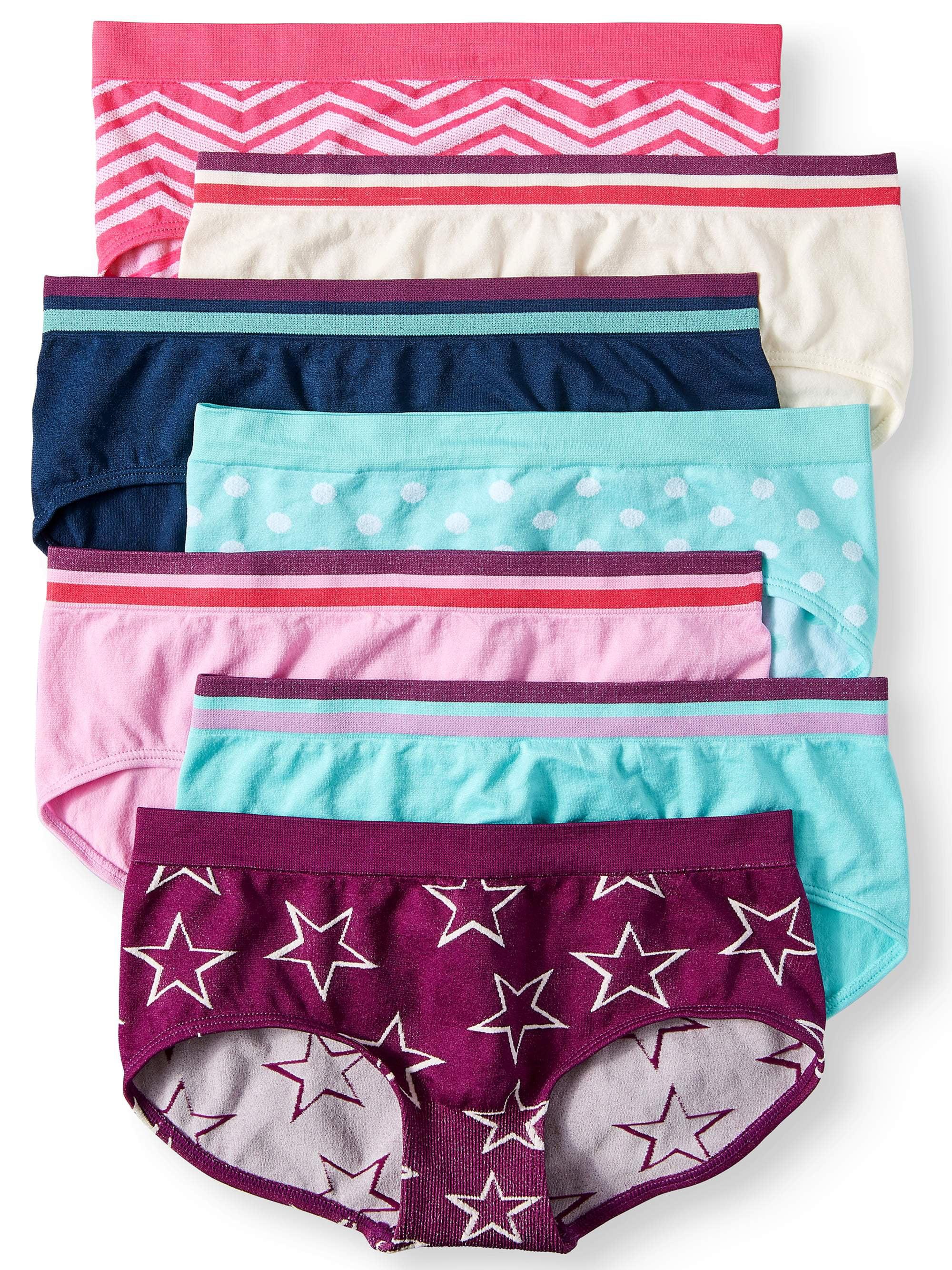 c88a7bdada9 Wonder Nation Girls Seamless Boyshort Panty