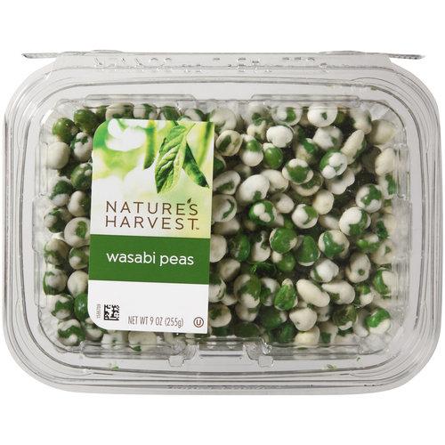 Nature's Harvest Wasabi Peas, 9 oz