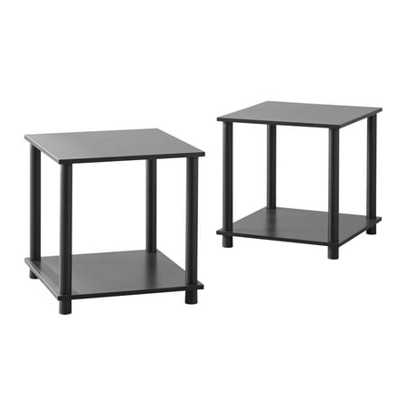Mirror Cube Table - Mainstays No Tools 2 X 1 Cube, Multiple Colors