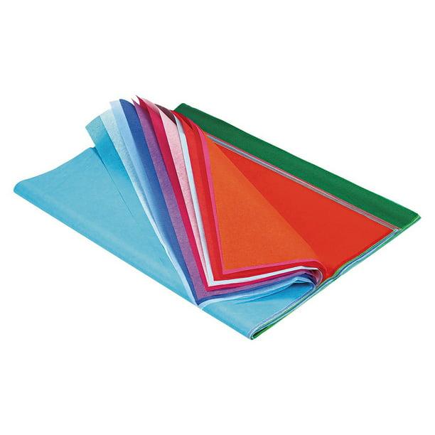 Pacon Spectra Art Tissue Sheet 100 Pkg Assorted Colors Walmart Com Walmart Com
