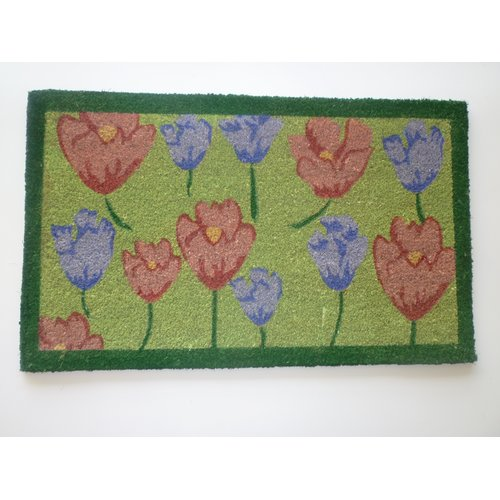 Geo Crafts, Inc Flowers Doormat