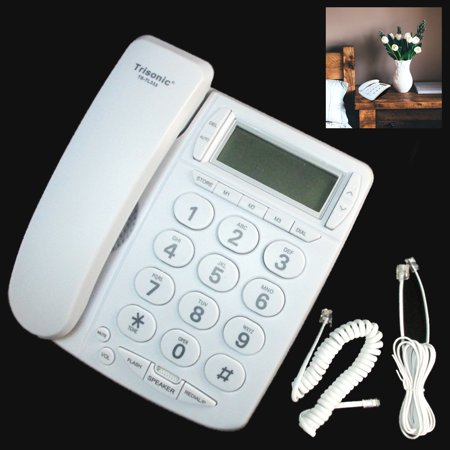 Large Number Big Button Home Phone Speaker Memory Caller ID Telephone Office