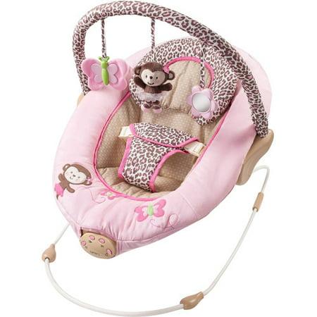 110277693 Basic Comfort Child Of Mine Carter's Ballerina Bouncer - Walmart.com