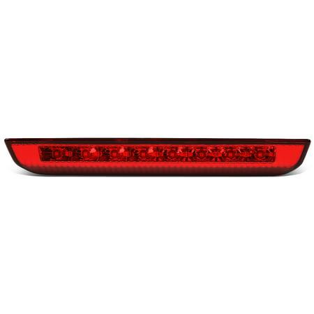 For 2014 to 2019 Nissan Rogue Red Housing Full LED 3rd Third Tail Brake Light Lamp 15 16 17 18 Red Led 3rd Brake Light