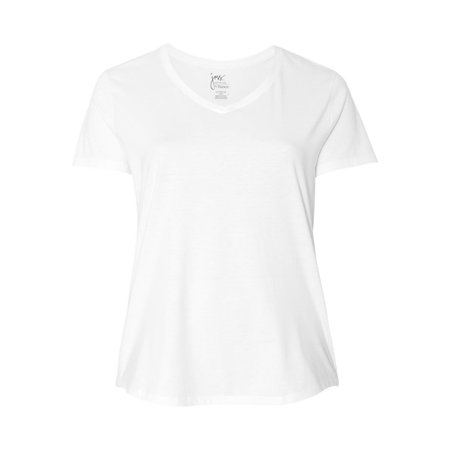 Just My Size T-Shirts Women's Short Sleeve V-Neck Tee JMS30 (Ps2 Shirt)