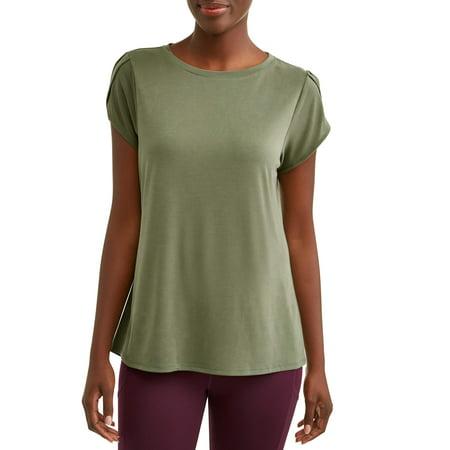 Women's Lightweight Tulip Sleeve T-Shirt