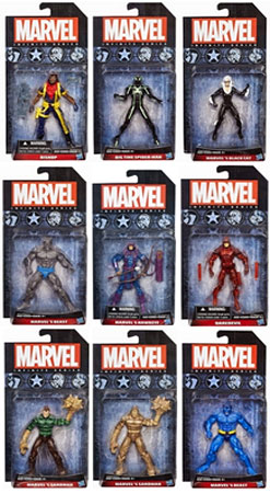 Marvel Avengers Avengers Infinite Series 4 Set of 9 3.75 Action Figures by