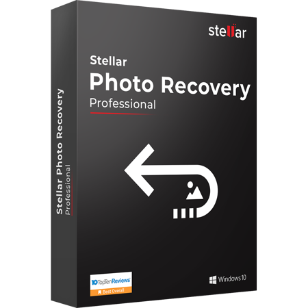 Stellar Photo Recovery Software | Windows | Pro | Recover Deleted Photos | Download | 1 Device, 1 Yr Subscription |