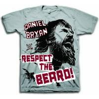 WWE Daniel Bryan Respect The Beard Adult T-Shirt