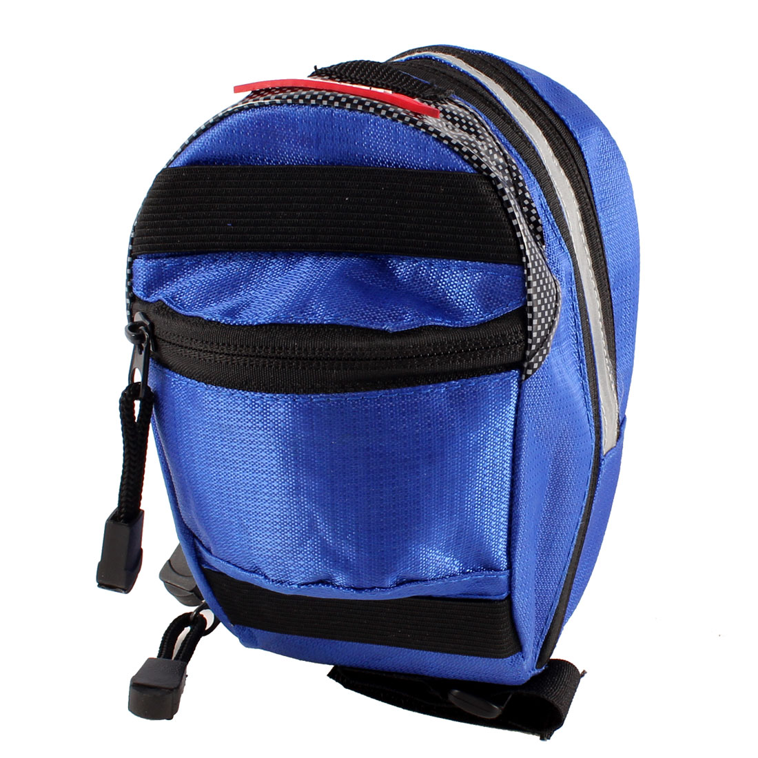 Mount Quick Release Bike Bicycle  Saddle Rear Pouch Bag Blue Black