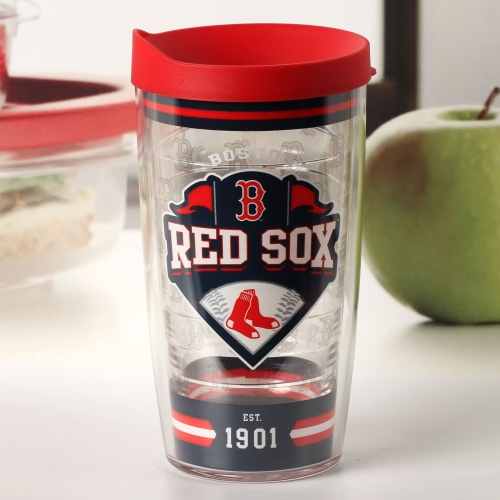 Boston Red Sox Tervis 16oz. Classic Wrap Tumbler with Lid - No Size