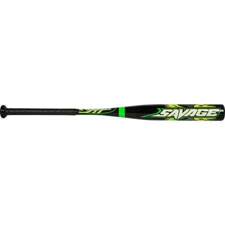 Rawlings Baseball Savage Aluminum Baseball Bat 28/18 -10 YBSVG10 Sports Gear