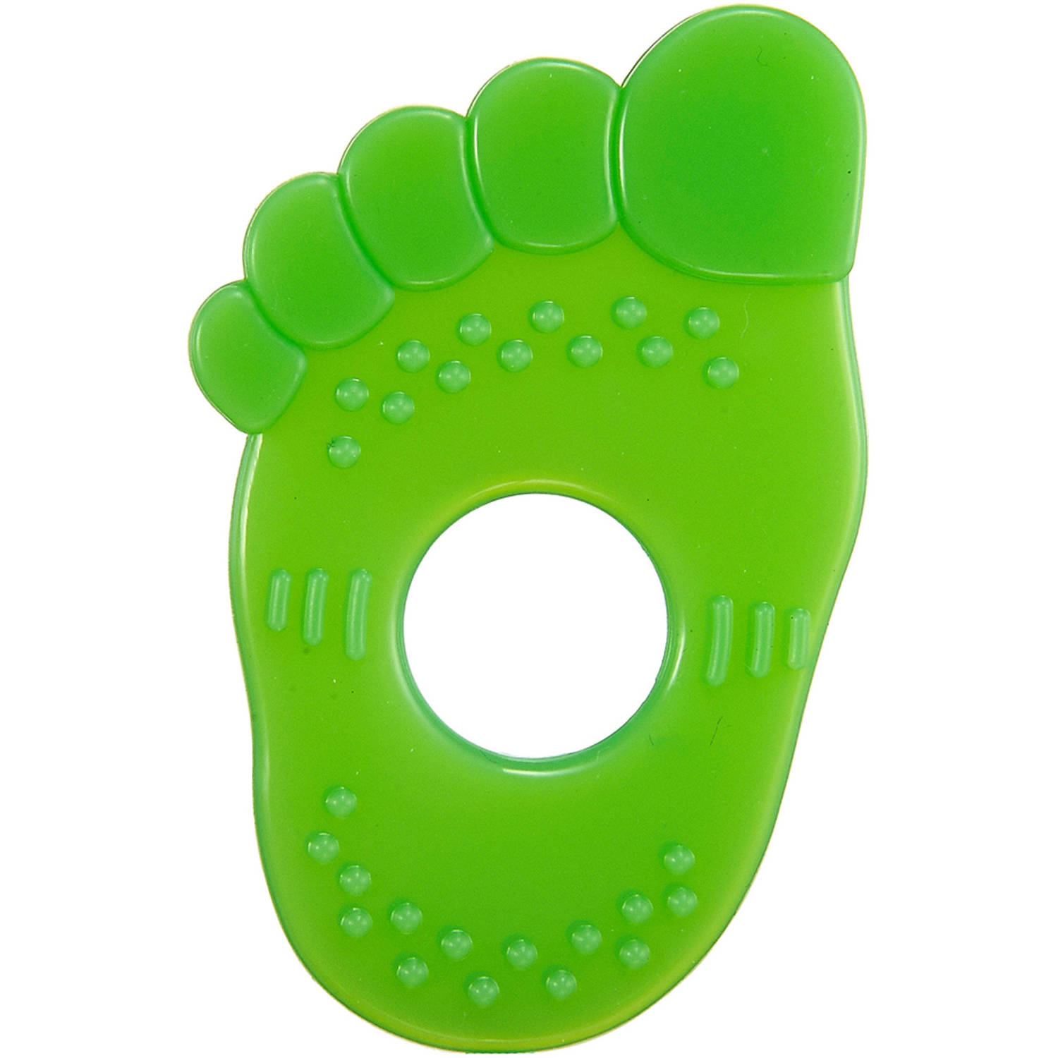 Simba Foot Silicone Teether, Green