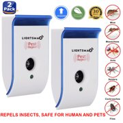 2018 UPGRADED MOST POWERFUL Ultrasonic Pest Control Repeller - Eletronic Pest Repellent Plug In - Insect Repellent - Repels Mouse, Bedbug, Roaches, Ants - Non-toxic Eco-friendly, Humans / Pets Safe