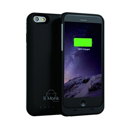 online store e2b1b 7246f lil Monk iPhone 6 6s Battery Case, 3500mAh Portile Charging Case for ...