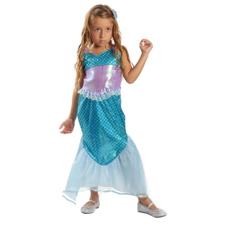 Mermaid Costumes For Little Girls (Cute Little Mermaid Costume for)