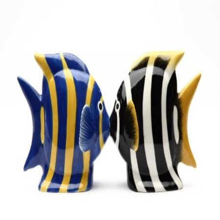 Fish Salt Pepper Shakers (Magnetic Salt and Pepper Shaker - Angel)