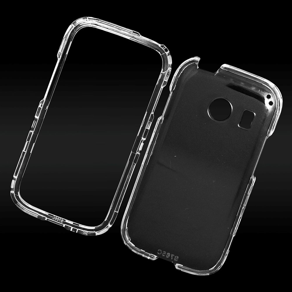 EagleCell Hard Crystal Cover Case For Samsung Galaxy Ace Style - Clear
