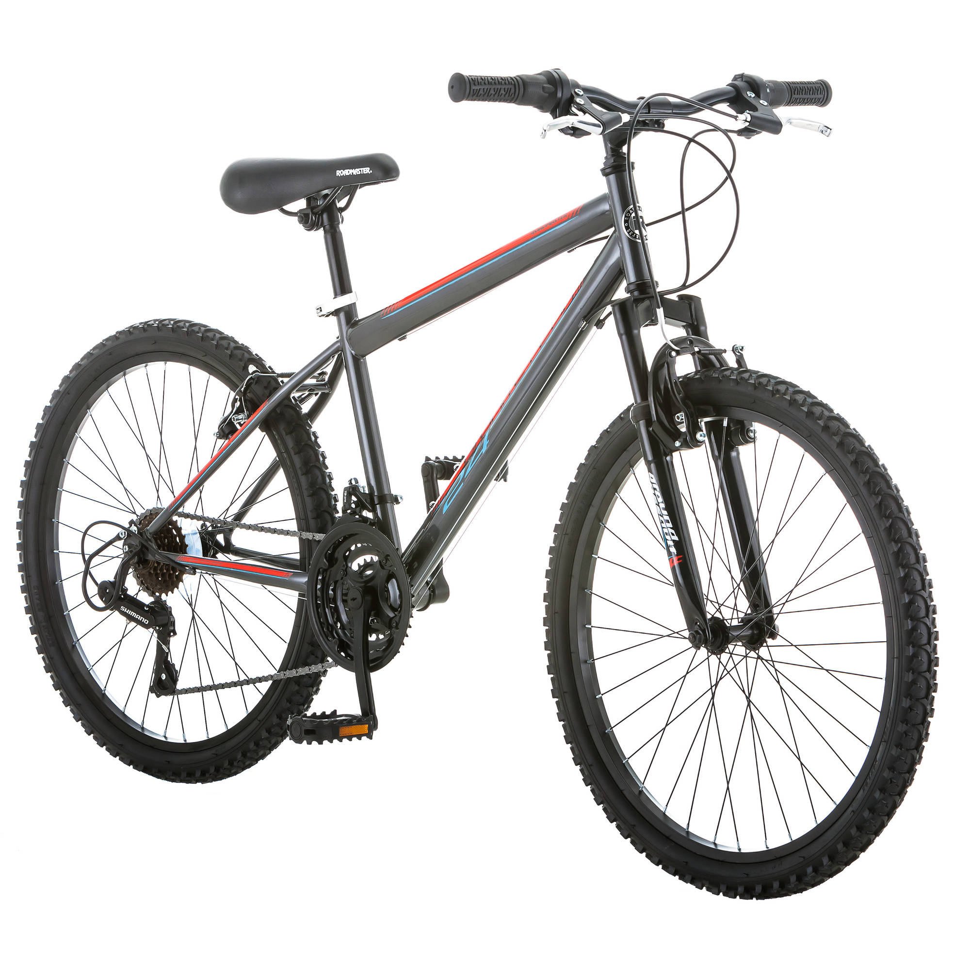 "24"" Roadmaster Granite Peak Boys' Bike, Multiple Colors"