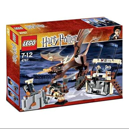 Harry and the Hungarian Horntail Set LEGO 4767 Series 1 Goblet of Fire
