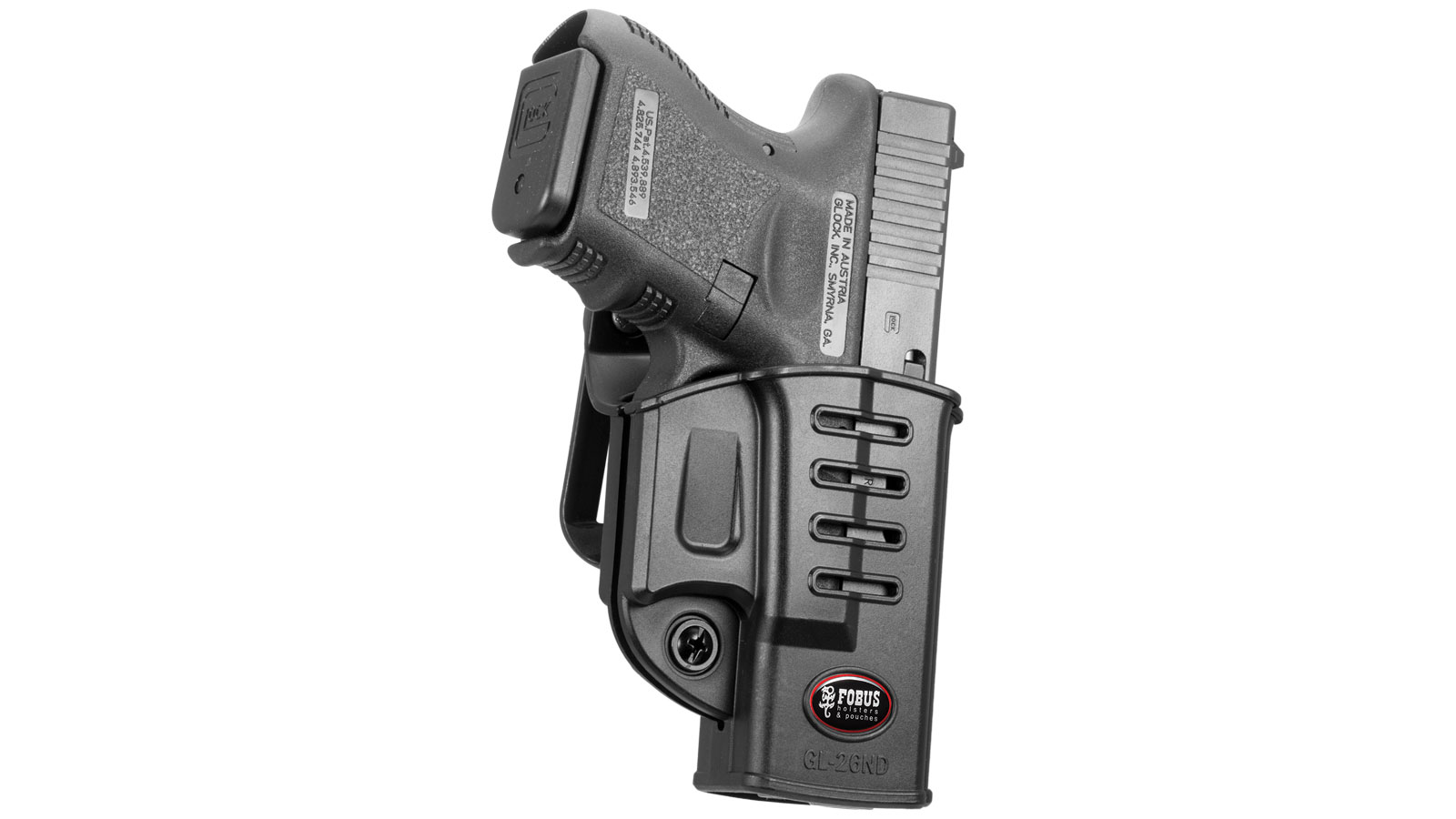 Fobus GL26NDRB Roto Evolution Belt Holster by FOBUS USA