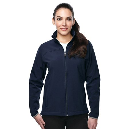 Tri-Mountain Women's Waterproof 3 Layer Bonded Shell - Bi Layer Jacket