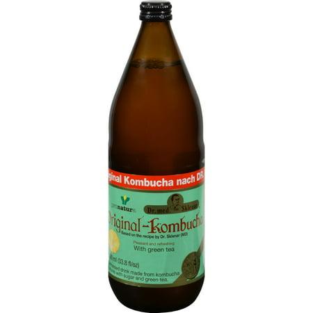 Pronatura Kombucha With Green Tea - 33.8 fl oz