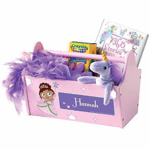 Personalized Super Why! Princess Presto! Toy Caddy