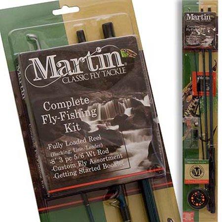 Cross Water Fly Rod - Zebco Sales Co. LLC ZEB-MRT56TK-6L-BP6M MARTIN COMPLETE FLY ROD KIT