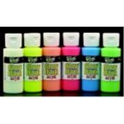 Handy Art 2 Oz. Glow In The Dark Non-Toxic Acrylic Paint Set, Set - 6